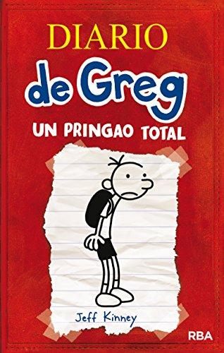 Diario de Greg: un pringao total por Jeff Kinney