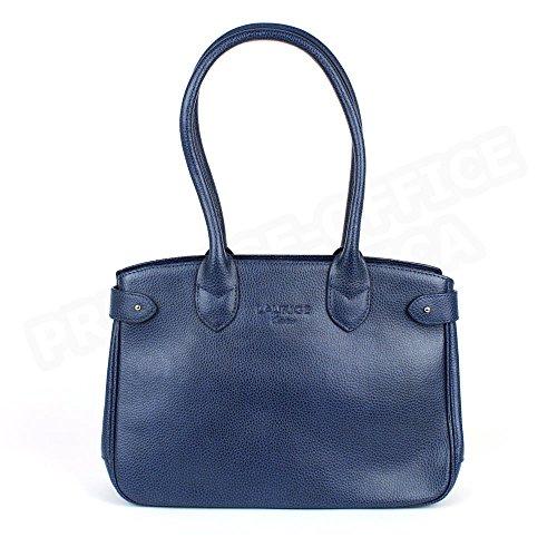 Sac à main paris cuir Fabrication Luxe Française Bleu