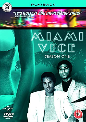 Miami Vice Series 1 Set Dvd 1984