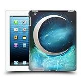 Head Case Designs Offizielle Mai Autumn Silber Mond Garten Weltraum Und Himmel Ruckseite Hülle für iPad 3 / iPad 4