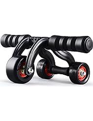 3-Wheel Triangular AB Roller Fitness equipo pesado deber Carver ABS Abdominal entrenador interior y exterior para máquina de ejercicio