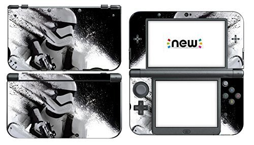 Vanknight Vinyl Decals Skin Sticker Star Wars Stormtrooper Battlefront for the New Nintendo 3DS XL 2015 by Vanknight
