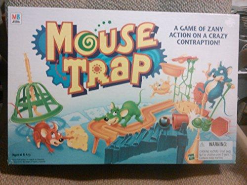 Mouse Trap Board Game 1999 Edition by Milton Bradley by Milton Bradley