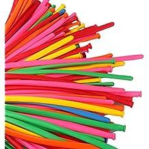 NUOLUX palloncini modellabili, Palloncini modellabili prestigio magia 200PCS (colore casuale)