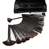 Lychee Beauté 32 Pinceaux de Maquillages Pro pour femme kit d'Accessoires...