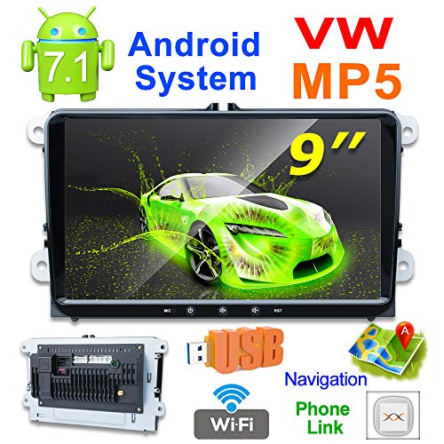 X-REAKO Android 7.1 Reproductor MP5 radio 2 din 9