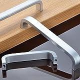 , Platz gezichta Armlehne Aluminium Handlauf Badezimmer von Glas Handlauf Personen mit Behinderungen Kontrolle Griff Küche Möbel zieht Kleiderschrank Griff 64mm/96mm/128mm/160mm/192mm