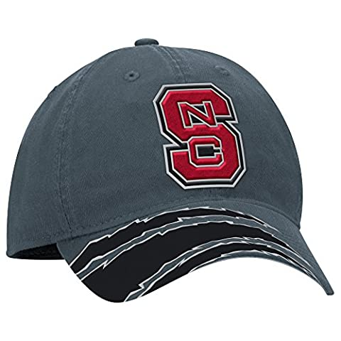 NCAA North Carolina State Wolfpack Men's 2015 Events Structured Adjustable Hat, One Size, Gray
