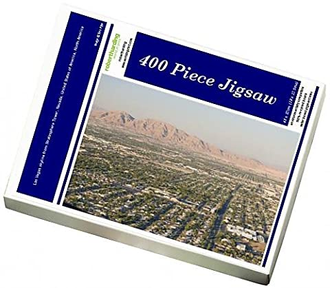Photo Jigsaw Puzzle of Las Vegas skyline from Stratosphere Tower,