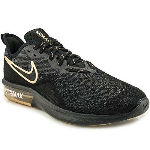 Nike Air MAX Sequent 4, Zapatillas de Gimnasia para Hombre, Negro Black/Anthracite/White 005, 40.5 EU