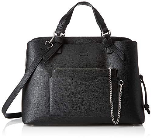 s.Oliver (Bags Damen Shopper Henkeltasche, Schwarz (Black) 16x29x39 cm