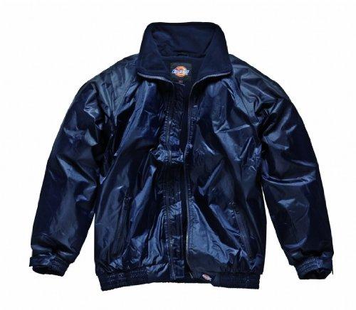 Dickies Lewis-Giacca impermeabile, blu, JW23500