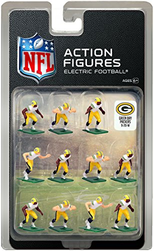 Green Bay Packers?White Uniform NFL Action Figure Set -