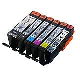 6 ORIGINAL setup Cartouches d'Encre PGI-570 CLI-571 pour le imprimante Canon PIXMA...