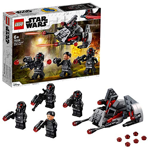 - Inferno Squad Battle Pack, Minifiguren ()