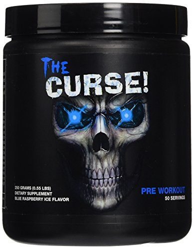 The Curse - Blue Raspberry 50 Servings (order 12 for trade outer) Please note actual image may vary