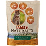 8in1 Iams Naturally Lamb Cat Food Dry Food for Cats with Natural Ingredients Sizes 8