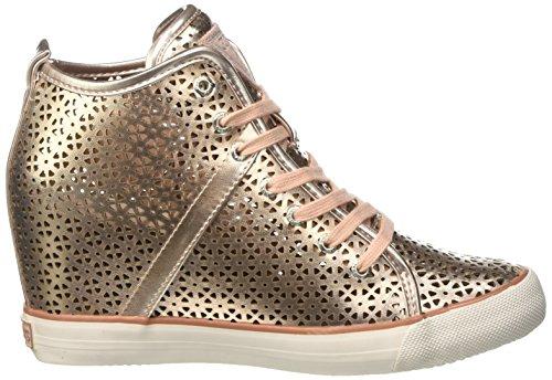 Guess Jillie, Chaussures de Tennis femme Or