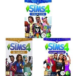 The Sims 4 Espansioni Vita in Città / Al Lavoro! / Usciamo insieme!