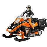 BRUDER - 63101 - Moto neige avec figurine conducteur et ...