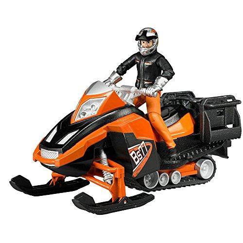 bruder 63101 - Snowmobil mit Fahrer und ()