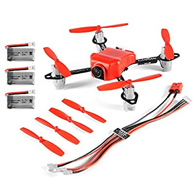XCSOURCE DIY FPV Quadcoopter Drone 105mm Carbon Fiber Frame F3 EVO Brushed Flight Control 8520 Coreless Motor RC467