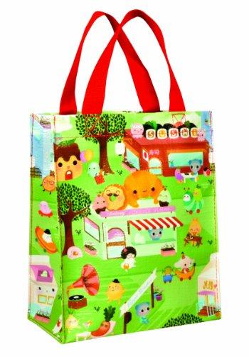 Blue Q Mini-Shopper HAPPY FOOD TOWN