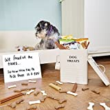 Hund Futter und Leckerlis Vorratsdose 2,5kg Kapazität - 7