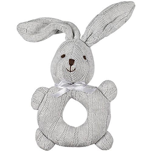 1-x-john-lewis-cable-knit-grey-rabbit-bunny-rattle-baby-toy-suitable-from-birth-high-quality