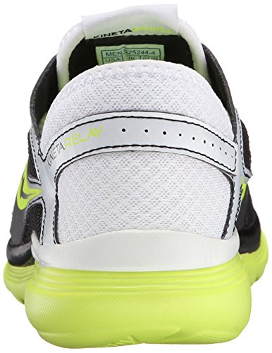 Saucony Men's Kineta Relay Men's Footwear White / Black / Citron