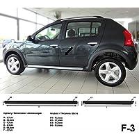 Spangenberg Listones de protección Lateral Dacia Sandero I 1. Generación: 06.2008-09.2012 F3