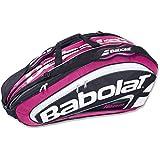 Babolat Holder X12 Team Line Racket Bag - Pink, One Size