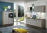 AVANTI TRENDSTORE - Cucina componibile - (L/A/P) ca. 340x87x60cm , compreso gli elettrodomestici