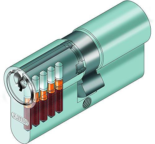 ABUS Profilzylinder Zylinder Türzylinder EC550 EC 550 inkl. 5 Schlüssel - 2