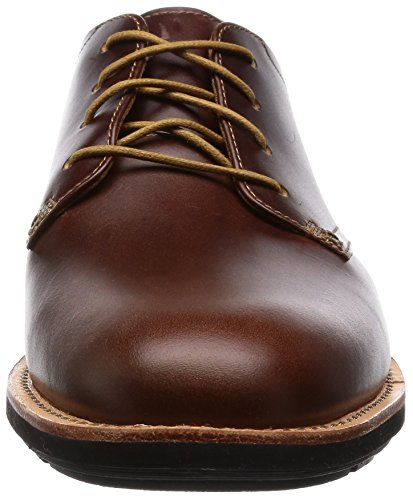Timberland Kempton Ox, Chaussures à Lacets Homme Marron (Brown)