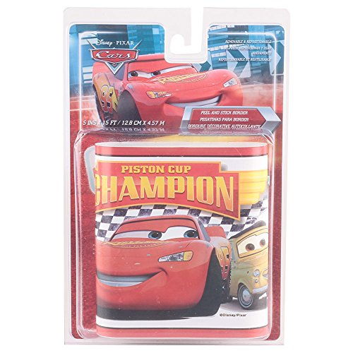 Cars – Piston Cup Champion Peel & Stick Grenze Wand Aufkleber 12,7 x - Grenze Peel