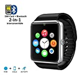 inDigi 2 in 1 GSM + Bluetooth Smartwatch Phone Built in Camera At&T