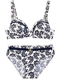 38-44 B-D in weiß-bedruckt SUSA Bikini 1872 Gr