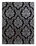 Barock Tapete P+S 08521-60 schwarz grau Barock Edel