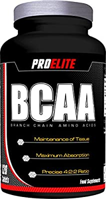ProElite BCAA (Branch Chain Amino Acids) 120 Tablets from ProElite