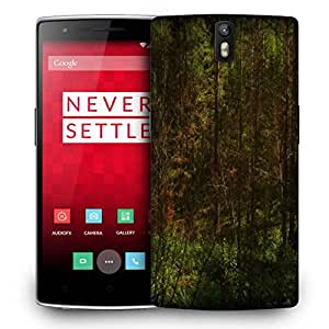 Snoogg Forest Grass Designer Protective Phone Back Case Cover for OnePlus One