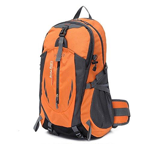 SZH&BEIB Wanderrucksack 35L wasserdichte Freizeit für Outdoor-Reisen Camping Bergsteigen Tasche A