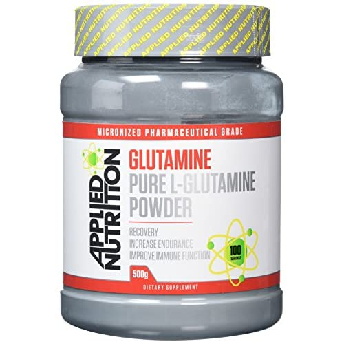 Applied Nutrition L Glutamine Micronized Powder, Optimum Muscle Strength & Recovery Glutamine, Boosts...