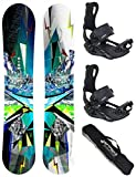 Airtracks SNOWBOARD SET - TAVOLA PLACES WIDE 162 - ATTACCHI MASTER XL