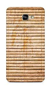 Amez designer printed 3d premium high quality back case cover for Samsung Galaxy A9 (Bamboo)