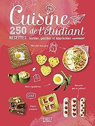 Cuisine de l'étudiant - 250 recettes testées, goûtées et appréciées