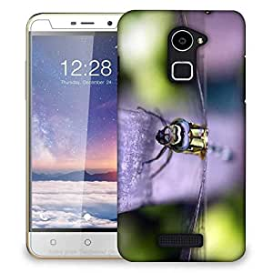 Snoogg Dark Dragonfly Designer Protective Phone Back Case Cover For Coolpad Note 3 Lite