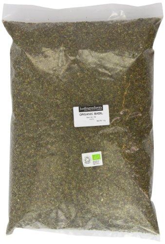 JustIngredients Bio-Basilikum, Organic Basil, 1er Pack (1 x 1 kg)