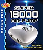 Ocean Free Super Precision ap18000Fine Tune 4-Wege-4OUTLET Aquarium Fish Tank Luftpumpe Luftpumpe