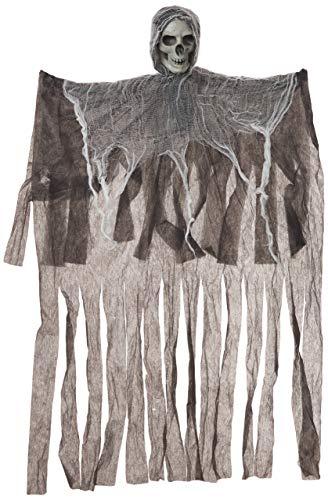BenefitUSA 9,1 m hängender Reaper Totenkopf Kopf Requisite Geister Halloween Rep Spukhaus, Hof, Gruselige Dekoration